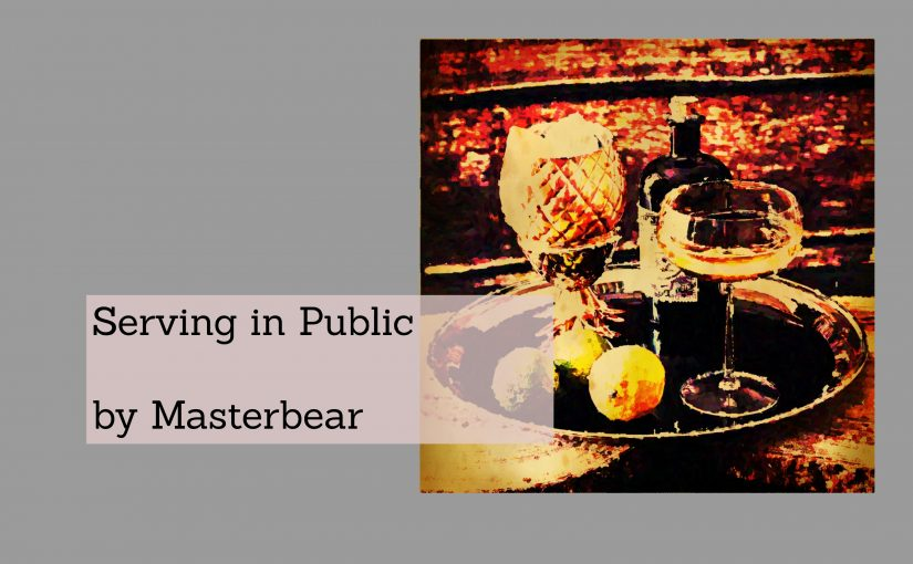 Serving in Public By Master Bear