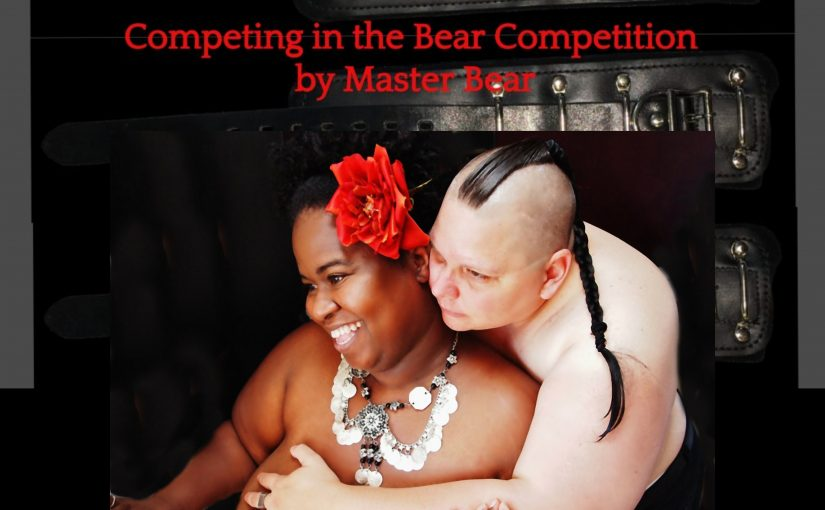 Competing in the Bear Competition by Master Bear